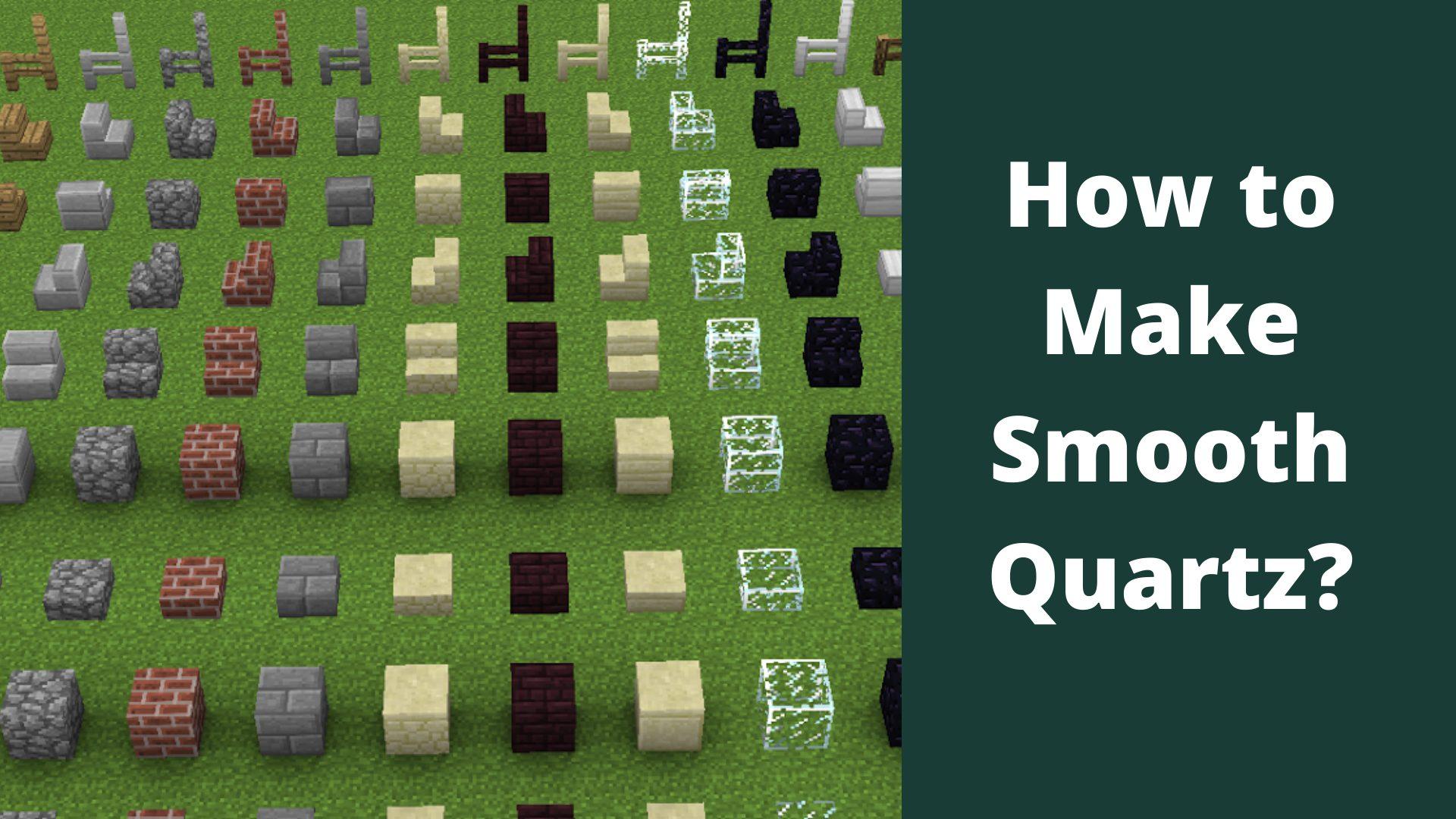 How to make smooth quartz