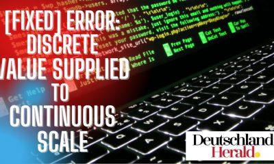 Error: Discrete Value Supplied to Continuous Scale