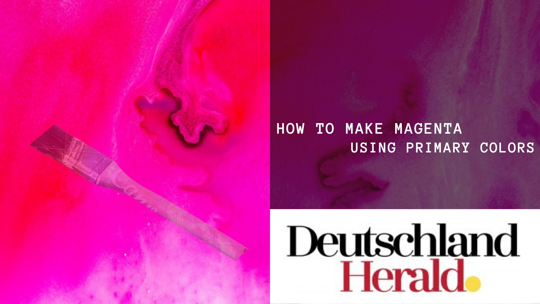 How To Make Magenta: Using Primary Colors