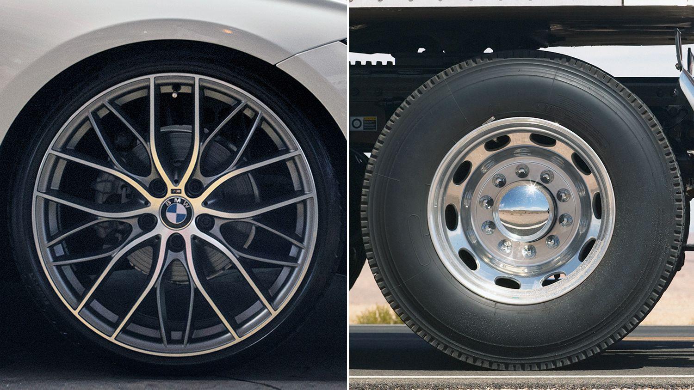 Alloy Wheels vs. Normal Wheels